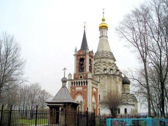 Перображенская церковь в селе Остров